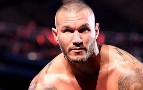 wwe randey orton hair cuts pic randy orton s grizzly gash from last night s