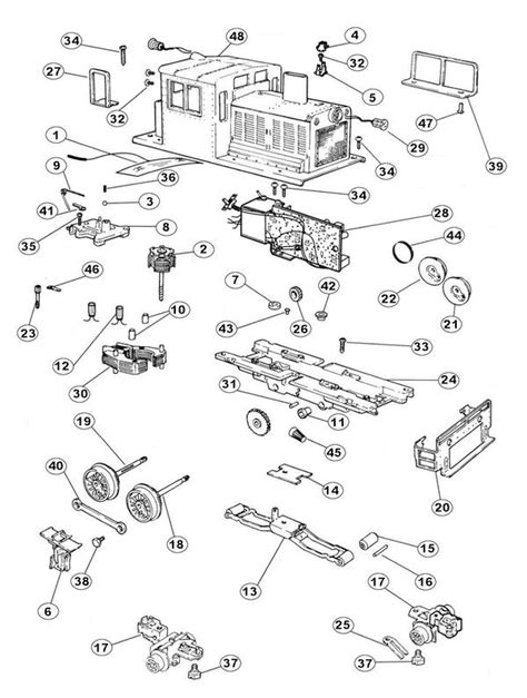 lionel parts list and exploded diagrams lionel 2026 engine diagram danby kegerator parts diagram