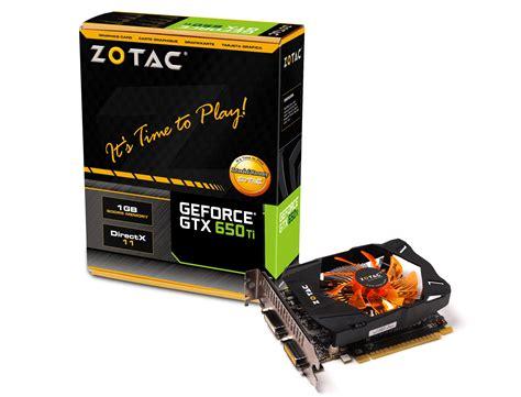 Vga Zotac Gtx 750 1gb Ddr5 128bit Vga Zotac Gtx 650 Ti Synergy Edition 1gb Ddr5 128bit