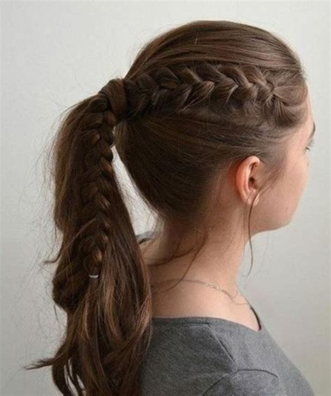 easy hairstyles of school cutest easy school hairstyles for easy school