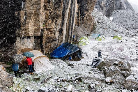 tende da trekking vita in una tenda scarpa