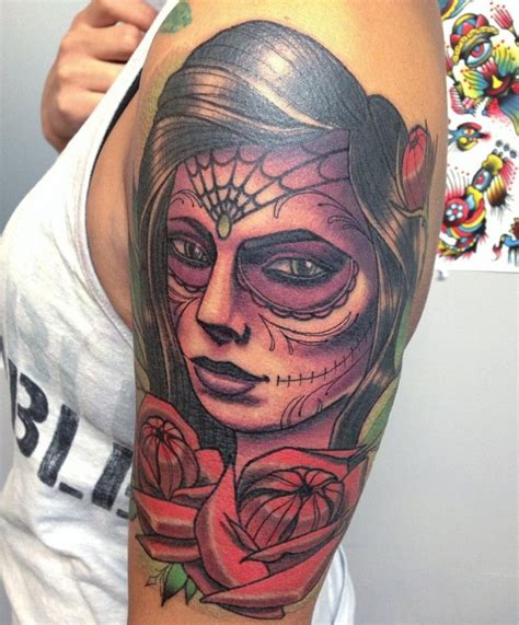 100 greatest day of the dead tattoos meanings may 2018