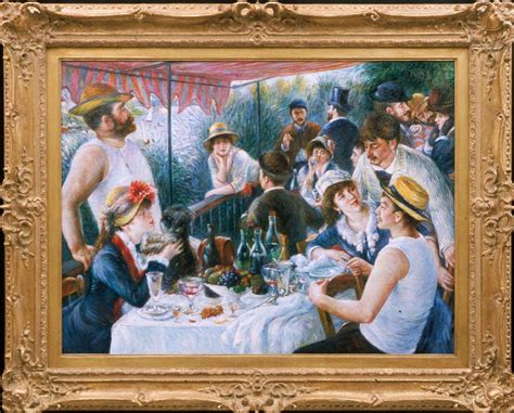 luncheon of the boating party pdf museum quality art quot forgeries quot go legit