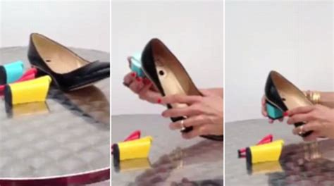 flat shoes that turn into heels heath invents shoes that feature world s