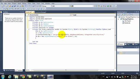 imagenes botones visual basic navegar registros en visual basic doovi