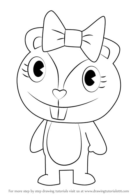 Happy Tree Friends Coloring Pages giggles happy tree friends coloring pages coloring pages
