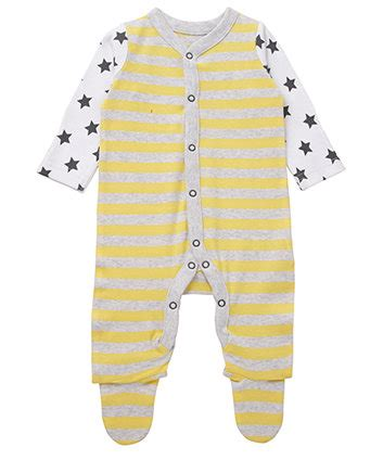 Mothercare Sleepsuit 4 mothercare yellow stripe zebra sleepsuit sleepsuits mothercare
