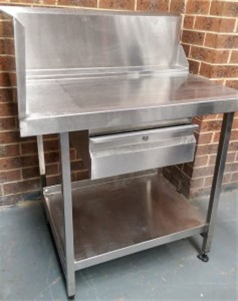 used stainless steel benches used stainless steel corner dishwasher outlet bench with