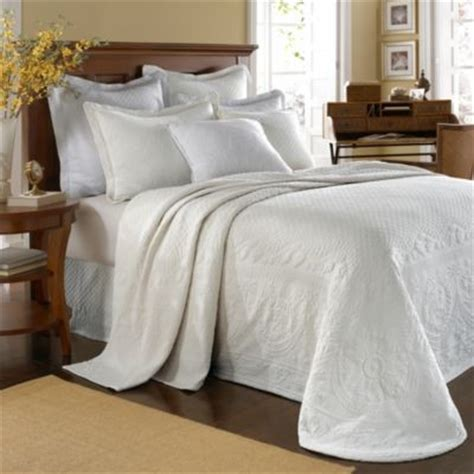 white matelasse coverlet king king charles matelasse bedspread in white contemporary