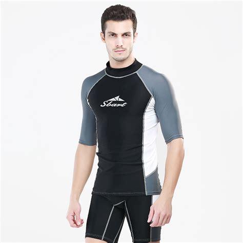 Baju Renang Quiksilver Mens Swim Shirts Fashionable For Summer