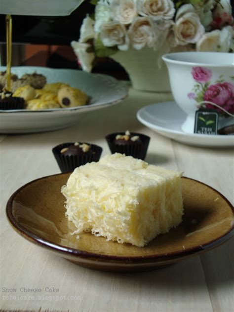 1 Kotak Cheese i cake snow cheese cake
