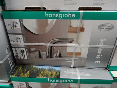 costco hansgrohe bathroom faucet hansgrohe solaris e chrome bath faucet