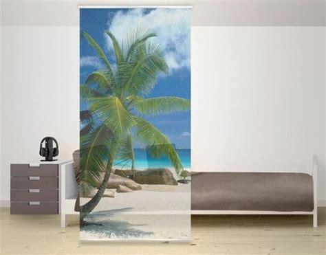 strand wohnzimmer ideen raumteiler vorhang traumstrand 250x120cm wohnzimmer