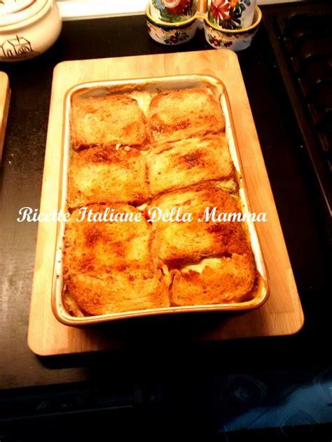 ricetta pane in cassetta tortino di pane in cassetta ricette italiane della mamma