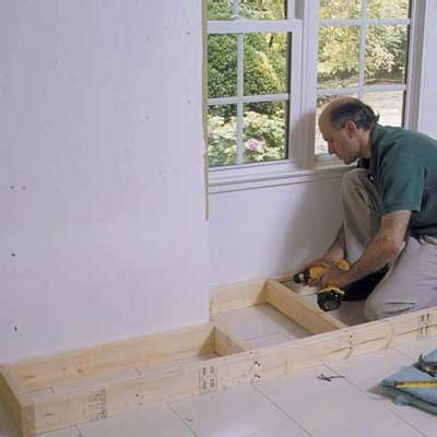 how to build a window seat bench with storage 22 best window seats images on pinterest