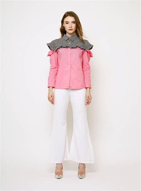 Top Combi Rivana Outer Baju Atasan jual baju atasan wanita terbaru trendy lengkap 2017