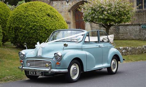 wedding cars east morris minor convertible wedding car hire near swindon