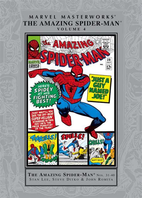 marvel masterworks the amazing spider volume 1 new printing amazing spider masterworks vol 4