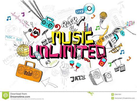doodle less pool musicas m 250 sica ilimitada imagen de archivo imagen 23657091