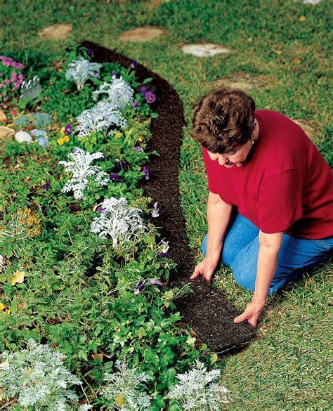 Gardeners Supply Edging Rubber Landscape Edging Recycled Rubber Gardener S