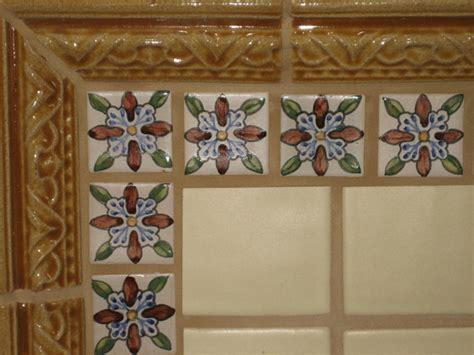 spanish tile kitchen backsplash spanish teruel backsplash mural traditional kitchen