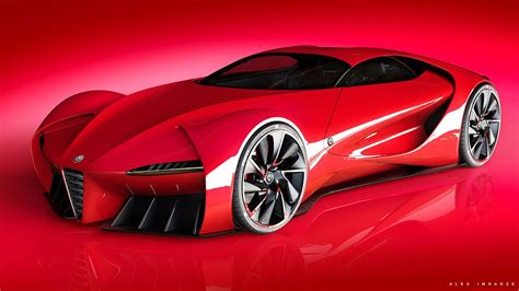 disco volante alfa romeo 6c concept imagines a modern disco volante