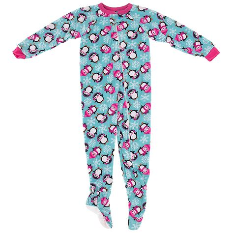 Footed Sleepers by Winter Penguin Footed Pajamas For