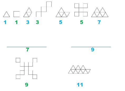 imagenes de sucesiones figurativas sucesi 243 n de figuras geom 233 tricas desaf 237 os matem 225 ticos