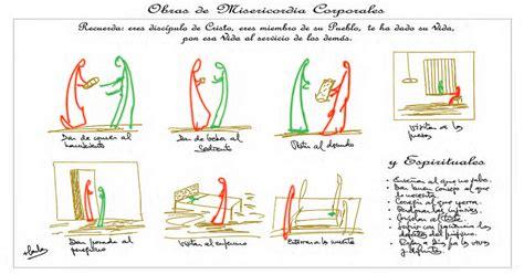 imagenes de misericordia espirituales los dibujos de osoro para el a 241 o de la misericordia