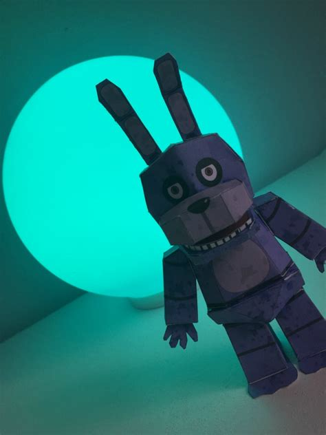 five nights at freddy s bonnie the bunny by animalcomic96 five nights at freddys purple bonnie the bunny free printable