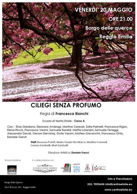 il giardino dei ciliegi cechov ciliegi senza profumo etoile