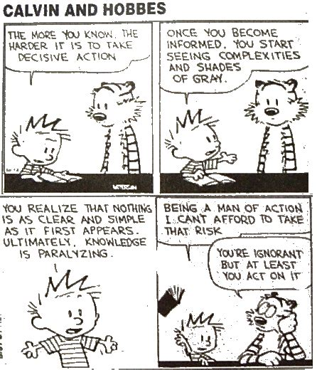 Letter No Research Means Lies Can Dominate calvin and hobbes open minds formerly moving images