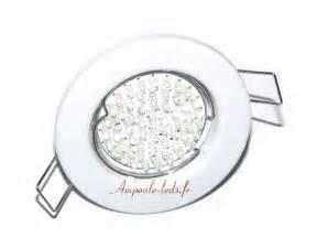 spot led eco encastrable fixe blanc gu10 38 leds 220v