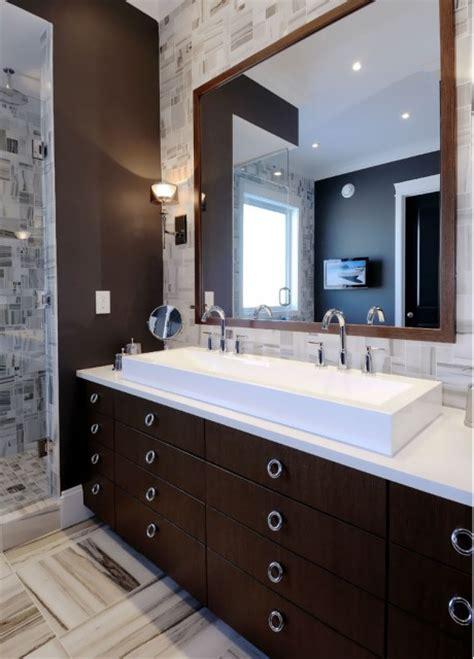 brown bathroom cabinets cottage bathroom melanie