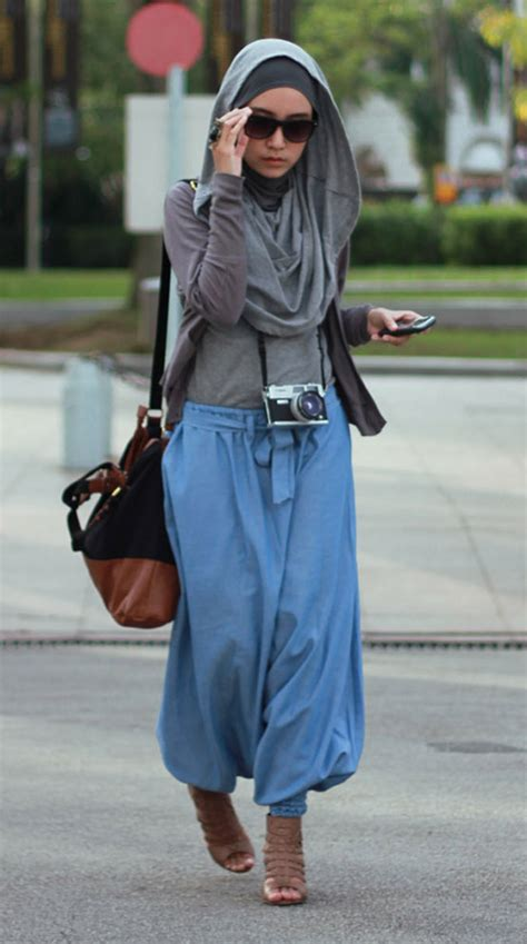 casual hijab style tutorial hijab