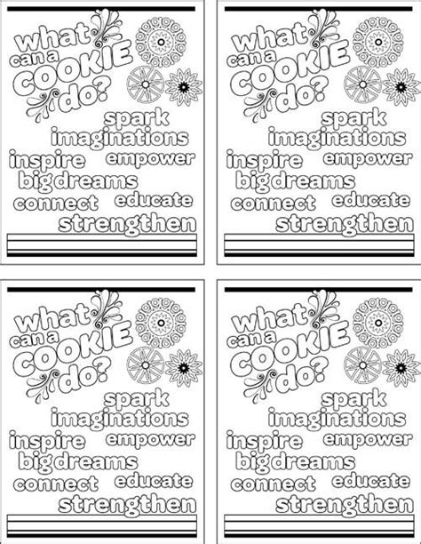 Pinterest Discover And Save Creative Ideas Scout Cookie Coloring Pages