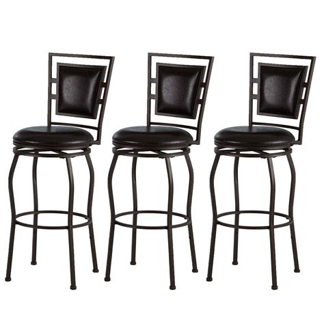 linon home decor bar stools linon home decor townsend adjustable height dark brown