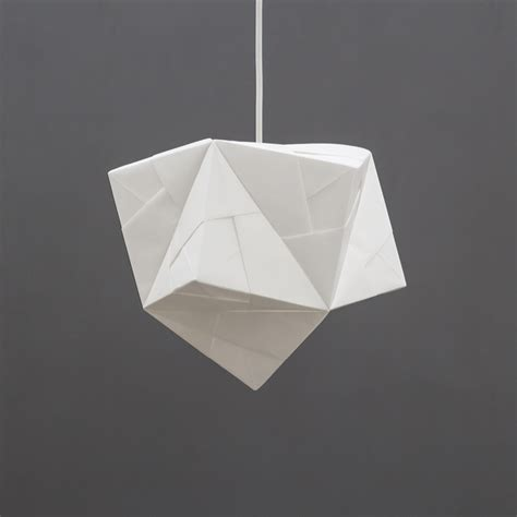 origami light fixture sonobe collection foldability