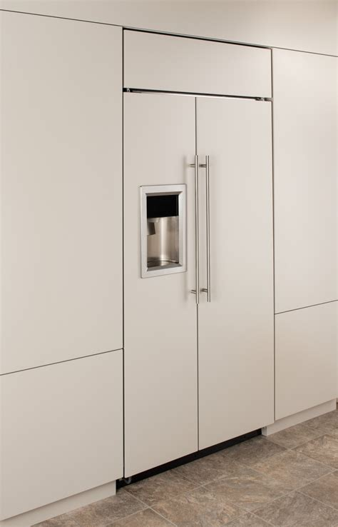 What Is A Panel Ready Refrigerator by Monogram Zisb360dk 36 Quot Built In Refrigerator With