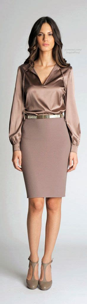 Pencil Skirt And Blouse Combo by 47 Best Blouses Satin Images On
