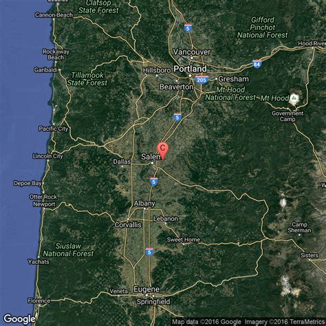 oregon springs map springs in the willamette valley oregon usa today