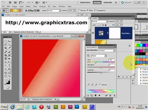 photoshop gradients changing color cs5 cs4 cs3 cs2 cs1 etc tutorial