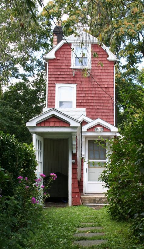 The Skinny House | the skinny house tiny red cottage and 3 quotes on