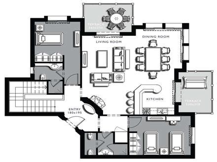 architectural floor plans with dimensions residential architectural design home house plans modern architectural