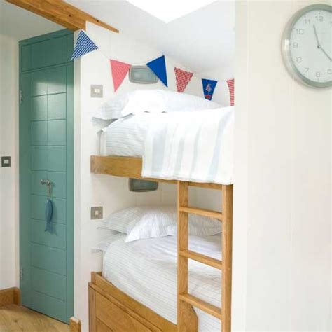 Box Room Bedroom Designs Calming Boys Bedroom With Bunting Boys Bedroom Ideas And Decor Inspiration Housetohome Co Uk