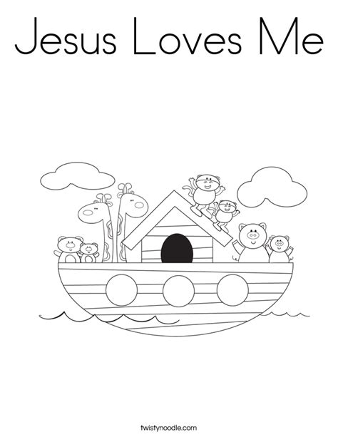 jesus loves me cross coloring page jesus loves me coloring page twisty noodle