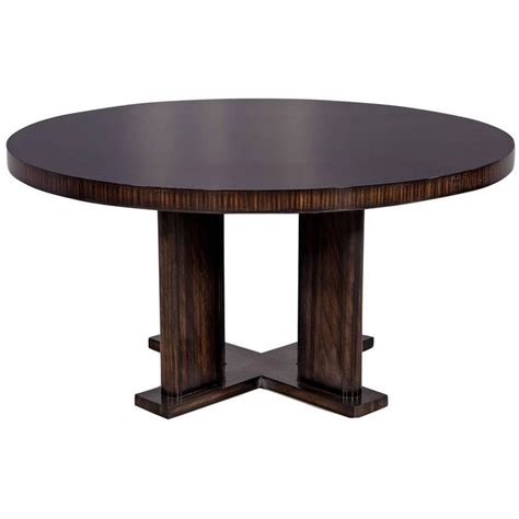 modern dining tables sale custom modern macassar dining table for sale at 1stdibs