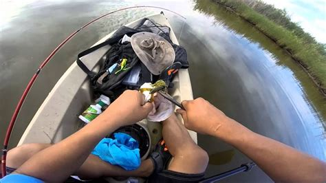 yuma az east wetlands bass fishing  kayak  lifetime
