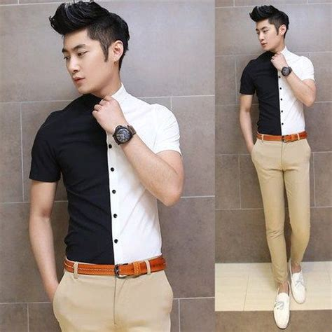 Stripe Frills Top Bahan Katun the 90 best images about shirt pattern on mens
