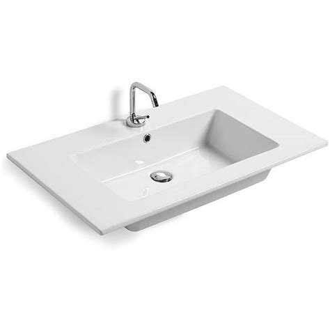 lavandino bagno incasso lavabi incasso lavabo da incasso per mobile sleek
